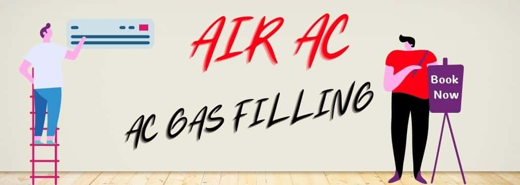 Window AC gas filling in Gurgaon
